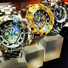 Invicta reserve venom hybrid timepieces via @invicta_woodbridge