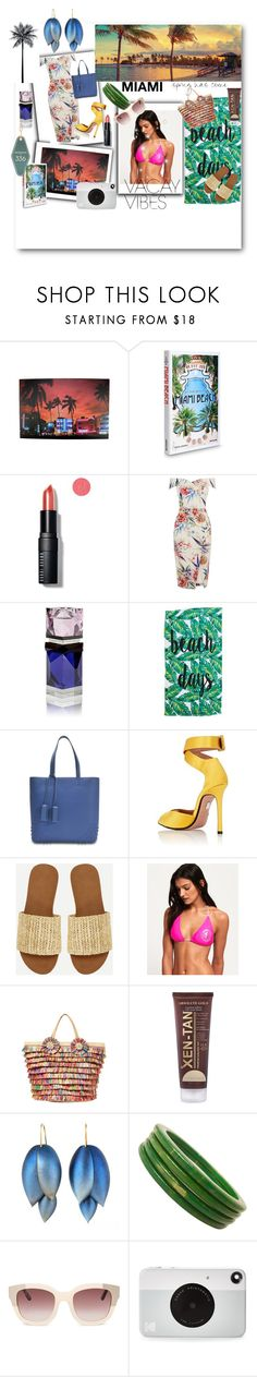 """Miami Vacay"" by sallytcrosswell on Polyvore featuring Pier 1 Imports, Assouline Publishing, Bobbi Brown Cosmetics, BCBGeneration, Tod's, Samuele Failli, Superdry, Betsey Johnson, Xen-Tan and Ted Muehling"