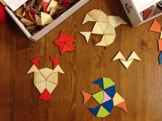 Penrose mosaic #woodworking #laser_cut #toy #puzzle #activity