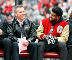 Coach Meyer and Zeke