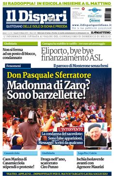 La copertina del 13 marzo 2015 #ischia #ildispari