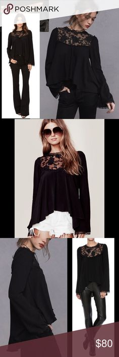 FOR LOVE AND LEMONS Ellery blouse, new condition FOR LOVE AND LEMONS Ellery blouse, new condition, so so pretty!  Please see pics for details For Love And Lemons Tops Blouses