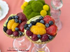 Gorgeous fruit at a Bridal Shower!   See more party ideas at CatchMyParty.com!  #partyideas #bridalshower