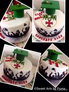 Graduation cake by Sweet Arts by Fruna