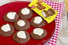 Frosted Chocolate Drops: A holiday cookie inspired by Mallo Cup candy bars