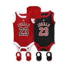 Jordan Infant 5-Piece Jersey Set ($24) ❤ liked on Polyvore