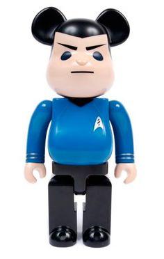Medicom 1000 % Spock Star Trek Bearbrick