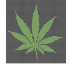 Marijuana Pot Leaf Crochet Afghan Pattern Graph Crochet Pot Leaf, Crochet Art, Tapestry Crochet, Leaf Knitting Pattern, Crotchet Patterns, Knitting Patterns, Crochet Afgans, Crochet Blankets, Afghan Crochet Patterns