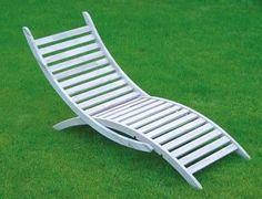 Mit unserer Anleitung können Sie einen komfortablen, schönen und kostengünstigen Liegestuhl bauen.