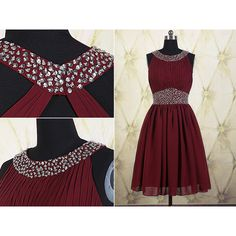 Burgundy Short Homecoming Dress ($109) ❤ liked on Polyvore featuring dresses, black, women's clothing, cocktail dresses, mini dress, women dresses, burgundy cocktail dress and black cocktail dresses