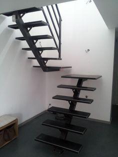 """Photo """"20130911 - Escalier créé par Marc Lamour ... Les f (...)"""""""