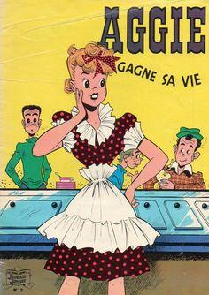 Aggie -2- Aggie gagne sa vie - BD