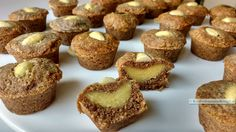 koolhydraatarme speculaas muffins, 24 stuks lekker! Healthy Sweets, Healthy Baking, Paleo Food, Healthy Snacks, Low Carb Desserts, Low Carb Recipes, Sweet Recipes, Cake Recipes, Tapas