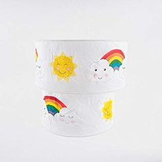 Day Dreams Smiling Sun, Cloud & Rainbow Cotton Fabric Ceiling Pendant Lightshade: Amazon.co.uk: Baby Fabric Ceiling, Toddler Rooms, Led Lampe, Ceiling Pendant, Decks, Cotton Fabric, Rainbow, Clouds, Dinosaurs