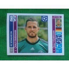 Football Soccer Sticker Panini UEFA Champions League 2014 #507 FC Schalke 04