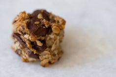 Nikki's Healthy Cookie — The BEST healthy cookie recipe Ive found yet! No suger, flour, dairy but tastes delicious