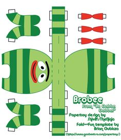 YGG - Brobee papercraft by ~ShiversTheNinja on deviantART