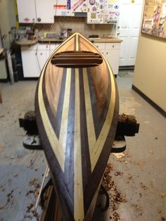 new kayak build  wood duck 12 hybrid  clc