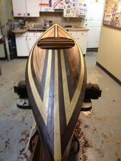 new kayak build  wood duck 12 hybrid  clc