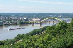 awesome view of Ohio River