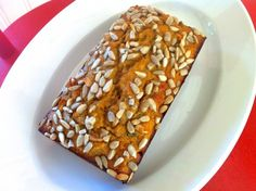 Sunflower Zucchini Bread (Gluten-Free with Coconut Flour) -- high protein, too!
