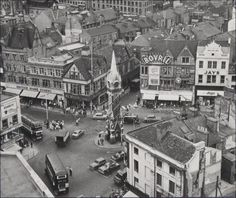 Clock Tower from above with all the old buildings . my Grandad used to stand here. An Inspector on the buses for Leicester City Transport Leicester England, Holiday Places, Kingdom Of Great Britain, Local History, Old Buildings, England Uk, Architecture, Old Photos, Old Things