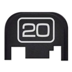Amazon.com : Rear Slide Cover Plate for Glock - G 20 : Hunting And Shooting Equipment : Sports & Outdoors