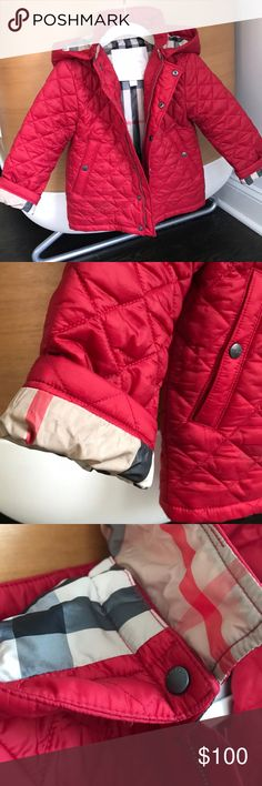 Burberry Jacket ❗️PRICING FIRM❗️ A must-have staple for every closet! Detachable Hood. PLEASE NOTE: this jacket is in EXCELLENT condition. It practically looks new. My pricing is firm and justified by the condition of the jacket. Burberry Jackets & Coats