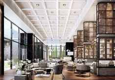 Discover service and amenities at Bangkok Marriott Hotel The Surawongse. Our hotel in the heart of downtown Bangkok offers luxury accommodations. W Hotel, Hotel Lounge, Lobby Lounge, Lobby Bar, Bar Lounge, Lounge Design, Cafe Design, Design Design, Hotel Lobby Design