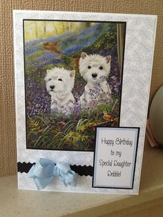 Pollyanna Pickering image. Im Happy, Happy Birthday Me, Card Ideas, Dog Cat, Crafting, Inspire, Paintings, Creative, Dogs
