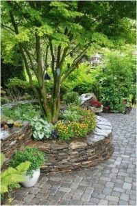 Stone Raised Garden