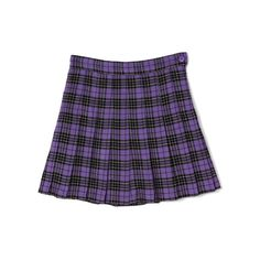 【 PECO CLUB 】PECOチェックプリーツスカート「BUBBLES ONLINE STORE【バブルス公式通販サイト】」 ❤ liked on Polyvore featuring skirts