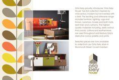 Orla Kiely | UK | Pre-AW13 Home furniture