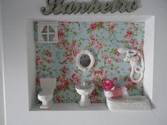 Quadro Cenário Banheiro ou Lavabo
