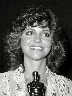 "Sally Field 1979. Best Actress Academy Award winner: Movie: ""Norma Rae"""