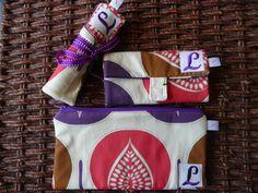 Monogram Gift Set  Travel Organizer  by CraftyStitches