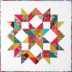 Ribbon Your Star Quilt Kit at www.pineneedlequiltshop.com