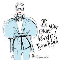 Megan Hess @meganhess_official Be your own kind ...Instagram photo | Websta (Webstagram)