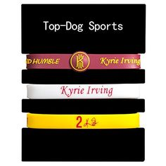 Silicone Wristband Bracelet NBA,LeBron James,Kyrie Irvin…