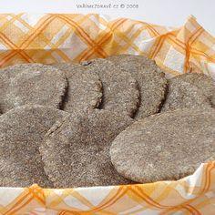 makove-placicky Poppies, Paleo, Bread, Baking, Food, Biscuits, Essen, Poppy, Beach Wrap