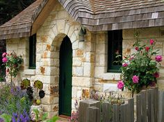 The Fairytale Cottages of Carmel..Stone house