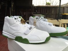 new style 69d06 6b74d NIKE AIR TRAINER 1 MID SP FRAGMENT WHITE CHLOROPHYLL 806942 113  200