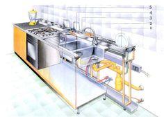 Valcucine logica - ergonomical kitchen