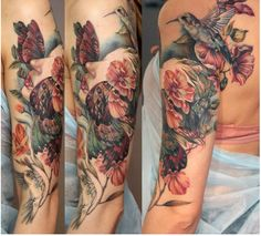 by Anna Belozyorova, illustration by Marco Mazzoni #ink #tattoo