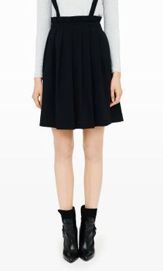 Alvery Suspender Skirt - Club Monaco Mini - Club Monaco