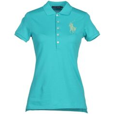 RALPH LAUREN Polo shirt ($147) ❤ liked on Polyvore