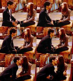 Jess and Rory! Gilmore Girls. This was the time for them to reunite!