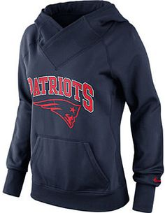 NIKE Women's New England Patriots All Time Therma-FIT Hoody - SportsAuthority.com