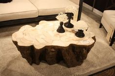 Undulating Form Solid Coffee Table   The Best Wood Furniture