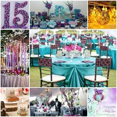 Party Owl The Time Quinceanera Sweet Fifteen Theme